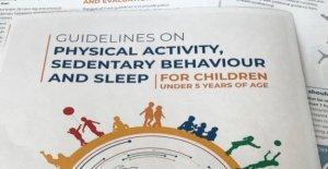 La actividad física, ¿cuánto en menores de 5 años