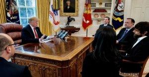 Trump ha cumplido con el co-fundador de Twitter, Jack Dorsey en la Casa Blanca