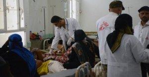 Yemen, bajo las bombas de las mujeres de dar a luz y los niños que mueren sin atención