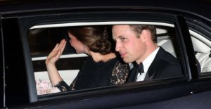 Accidente a la escolta de William y Kate, gravemente herido 83enne