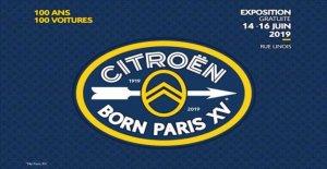 Citroën, Nacido en París XV de la marca orígenes