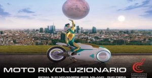 EICMA de 2019, la moto es revolucionario...