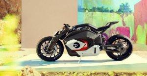 Idea de Bmw: la moto eléctrica boxeador