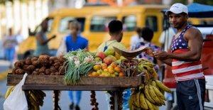 La parada de los cruceros de estados Unidos tapas de la economía de Cuba: bares y cafeterías, aproximadamente la mitad de las ganancias