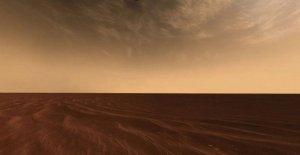 Las nubes de Marte nacen de la cortina de humo de los meteoros