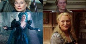 Meryl Streep, las muchas caras de la actriz de los registros. Mi modelo? El Italiano
