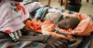 Sudán del sur, con un número récord de personas están expuestas a la severa escasez de alimentos