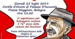 Anpi, aquí están los 90 y la pasta y anti-fascista organizada de todas partes de Italia para conmemorar el 25 de abril del '43