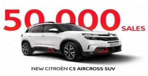 Citroën C5 Aircross, el registro de ventas