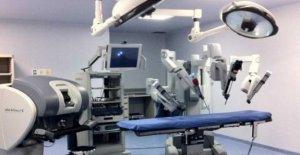 De la salud, los robots en la vanguardia Pascale en Pozzuoli: el éxito de la cirugía