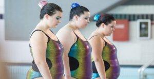 'Dulce', y la valentía de tres adolescentes en la piscina con los kilos de más