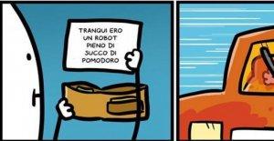 Facebook censura Sio. El dibujante: mi tira es la sátira contra aquellos que no respetan los derechos de los no-italiano