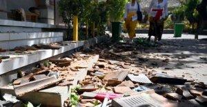 Indonesia: un terremoto de una magnitud de 5.7 y se derrumba en Bali