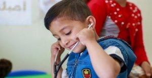 Líbano, el cuidado necesario para los niños refugiados sirios que sufren de la talasemia