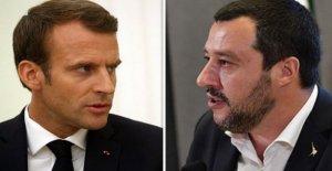 Los migrantes, Macron ataques Salvini, el Aterrizaje debe suceder en el puerto más cercano. La respuesta: no tomamos pedidos