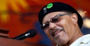Música: dead Art Neville, un icono de la música funk de Nueva Orleans. Él era de 81 años de edad