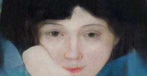 Obtener un retrato (verdadero) por la Ia. Inspirado por los grandes maestros, pero la invención de sí mismo como un pintor