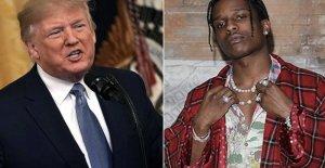Suecia, emitido Asap Rocky: libre después de 20 días, el rapero pro Trump