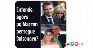 Amazon, Bolsonaro ofende Brigitte Macron...