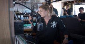 El capitán de la Mar del Reloj 3 Pia Klemp rechaza la decoración de la oferta de París: no necesitamos hipócritas honores