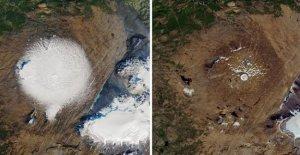 El clima, Islandia celebra el glaciar desaparecido. En 200 años, en el que otros hagan lo mismo