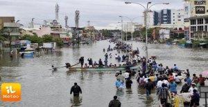 La India del sur-oeste, el dramático,...