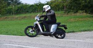 Askoll Evolución, el scooter faltaba
