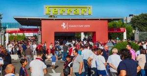 El Ferrari de colección de la familia: una fiesta para los empleados