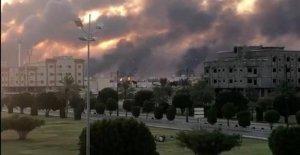 El ataque sobre el petróleo de Arabia Saudita, golpeado por los aviones no tripulados en la planta de procesamiento de, el más grande en el mundo
