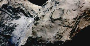 El cometa de la misión Rosetta es devastado por los deslizamientos de tierra, es todo por culpa del Sol