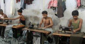 La industria de la moda, y cuando se comprueba la seguridad en el trabajo es pagado por el controlado