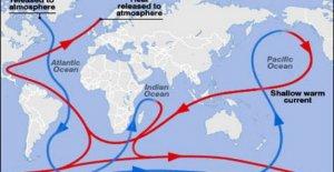 Los cambios climáticos, por lo que el Atlántico es ayudado desde el océano Índico