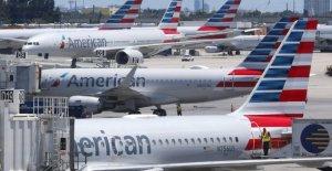 Los estados Unidos, los dos musulmanes a bordo: American Airlines cancela el vuelo
