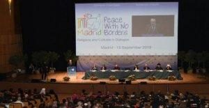 Madrid, Es una locura no aceptar, por lo que la ruina del mundo: los líderes políticos y religiosos de la Paz sin fronteras