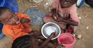 Mozambique, la comida de casi 1 millón de personas y se alimenta con las plantas silvestres