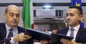 Regional, Maio abre el Ep: cívico acuerdo para la Umbría. Zingaretti aprueba: salir Adelante con la comparación