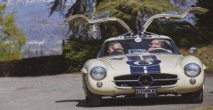 Coches clásicos y Motocicletas, Mercedes partido