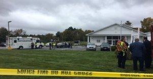 Estados unidos, los disparos en la iglesia de New Hampshire: lesionado. Tomó el agresor