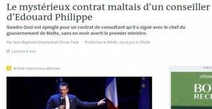 Sandro Gozi, renziano, tomada por los franceses y ahora el asesor de Malta. Gobierno francés: Dar explicaciones