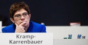 Alemania, el congreso de la Cdu: Kramp-Karrenbauer...