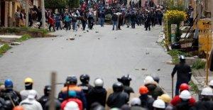 Bolivia, enfrentamientos y protestas en La ciudad de La Paz. Morales: Un golpe de estado que la oposición es responsable. Ahora a traer la paz