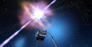 Capturó la luz cósmica de las más brillantes jamás visto