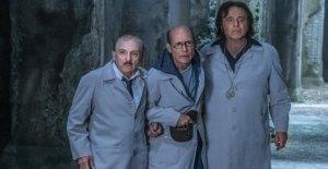 Christian De Sica: mi comedia de terror fantasmas de Nápoles, mi padre Vittorio y el rap Clementino