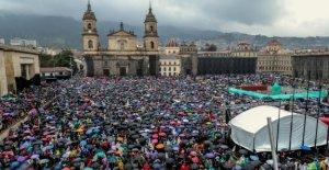 Colombia, cientos de miles de personas en las calles contra el presidente Duque