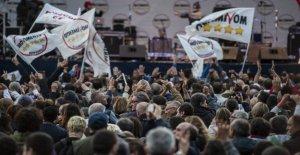 El M5S, mañana la votación de Rousseau para decidir si se debe ejecutar en Calabria y en la región de Emilia Romagna