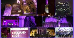 El día mundial contra el cáncer de páncreas, la ciudad se ilumina en color morado