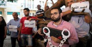 El líbano, las leyes sobre la difamación se utiliza para silenciar las críticas: miles de personas investigadas
