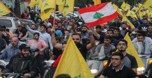 El líbano, los precios aumentan, los salarios disminuyen, los bienes son escasos, y las protestas continúan
