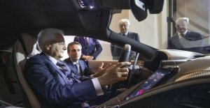El nuevo Ferrari de Roma, entra en el Quirinale
