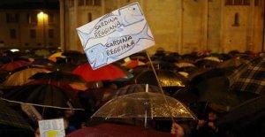 El sardinas están aumentando en la región de Emilia: el nuevo flash mob de Piacenza a Rimini